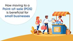 POS is a great way to manage your #business with efficiency and helps it evolve significantly. If you still haven't switched to #POS software, then here's why you should! #POSSoftware #Pointofsale #POSSolution #POSSystem #SmallBusinesses #HostBooks #BusinessKaAllrounder Point Of Sale, Pos, Software, Community, Digital, Business, Store, Business Illustration