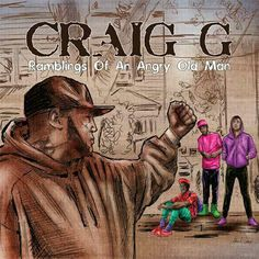 The legendary MC new album cover is brilliant