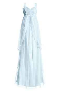 Or this gorgeous Elizabeth Dye empire waist number. | 35 Wedding Gowns Every Disney Obsessed Bride Will Love