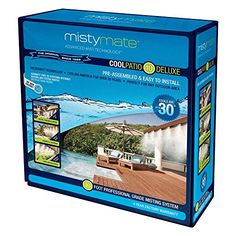 Misting Systems - MistyMate Cool Patio Deluxe Outdoor Mist System >>> Click image to review more details. (This is an Amazon affiliate link)