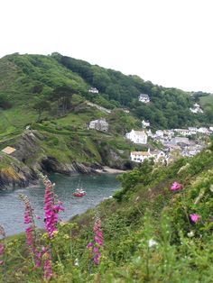 Pretty Polperro, Cornwall. Where weekends should be spent eating scones and browsing toot shops.