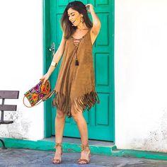 Bom dia babies! Que sua semana semana tão leve tão linda e tão incrível quanto esse vestido!  @mariaflorjaragua