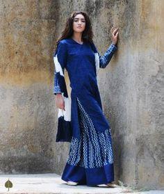 Indigo Rhymes: Indigo-Dyed Bagru Printed Apparel