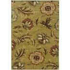 Artistic Weavers Saltillo Raw Umber 5 ft. 3 in. x 7 ft. 6 in. Area Rug-Saltillo2-5376 - The Home Depot