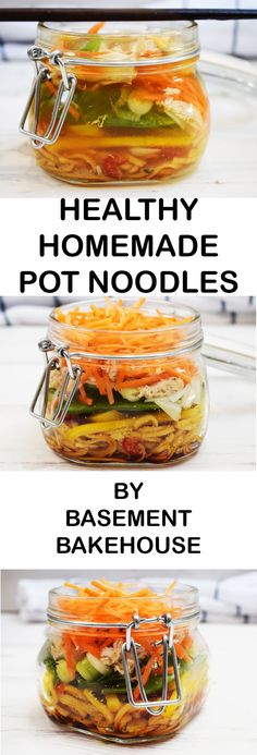 Healthy Homemade Pot Noodles - MEAL PREP - Syn Free on Slimming World