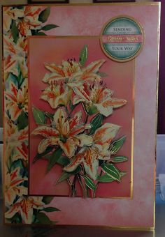 (32) Birthday Card - A5 from Hunkydory Decoupage