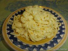 Pasta:tagliolini all'arancia