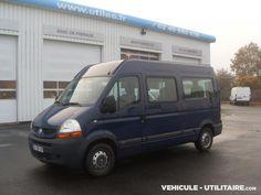 Véhicule utilitaire RENAULT Master L2H2 - Minibus