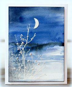 Winter scene | Rapport från ett skrivbord | Bloglovin
