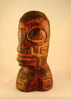 Robert Jimenez Tiki Art, Tiki Tiki, Tiki Hawaii, Tiki Lounge, Tiki Room, Bar, Retro, Retro Illustration