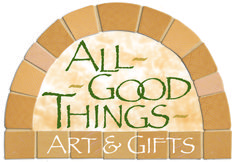 All Good Things – Original cards, prints, ceramics, handmade prayer pillows, soaps and lotions from the Sisters of St. Francis, and global fair-trade items.