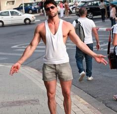 Cool Outfits, Summer Outfits, Casual Outfits, Fashion Outfits, Fashion Trends, Stylish Men, Men Casual, Moda Men, Style Masculin