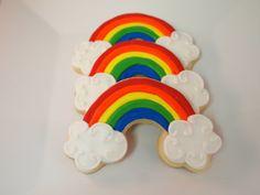 Rainbow Cookies by AuntieBeasBakery on Etsy