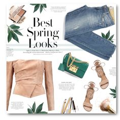 *** by len-chica on Polyvore featuring Balmain, Paige Denim, Gianvito Rossi, Gucci, H&M and Dolce&Gabbana