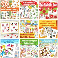 Tons of free printable file folder games just waiting for you to print them!They are always a great and fun way to learn with preschoolers. I love file folder games (free ones even more)! They make learning fun and way easier than just your ordinary pen and paper! They are great for teaching toddlers, preschoolers...Read More »