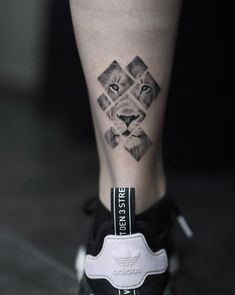 90 Tiger and Lion Tattoos That Define Perfection - Straight Blasted - by Avihoo. - 90 Tiger and Lion Tattoos That Define Perfection – Straight Blasted – by Avihoo Ben Gida – -