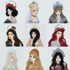 Disney Princesses And Princes, Disney Princess Drawings, Disney Princess Art, Disney Princess Pictures, Disney Pictures, Disney Drawings, Disney Dream, Cute Disney, Disney Style