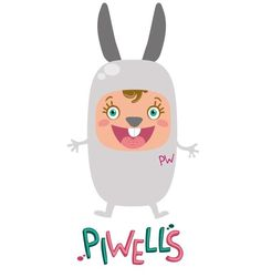 The rabbit Piwell! If you give me a carrot I will smile even more!