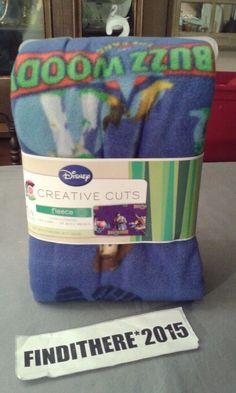 Disney Creative Cuts Fleece 2010 Toy Story 1 1/2 YARDS #CreativeCuts
