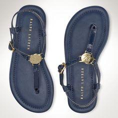Sueanne Patent Leather Sandal - Big Kid 3.5-7  Shoes - RalphLauren.com
