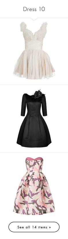 """Dress 10"" by casey-avery ❤ liked on Polyvore featuring dresses, vestidos, short dresses, white, women, white bustier, flared skirt, skater skirt, white cocktail dresses and vintage style dresses"