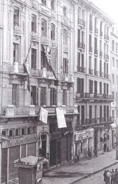 1944 Athens Stadiou Street December