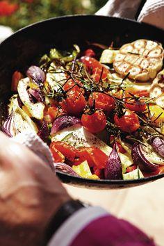 Voor bij de BBQ Overdaad aan groenten - Pascale Naessens