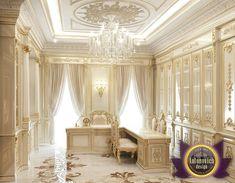 Luxury Office Design of Luxury Antonovich Design, Katrina Antonovich Office Interior Design, Luxury Interior Design, Interior Exterior, Modern Interior, Luxury Rooms, Luxury Home Decor, Floor Design, House Design, Law Office Decor