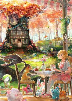Fairy by Namie-kun.deviantart.com on @deviantART (god i love namie's art so much i dream of buying all of her artbooks)