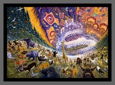 "Mark Henson- ""March of Progress""   *this img doesn't do it justice at all. in person is how you need to see it."