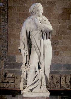 Francesco Mochi, Virgin Annunciate 1608/ 1609 Marble, over life-size Museo dell'Opera del Duomo, Orvieto.