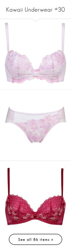 """Kawaii Underwear #30"" by yandereotaku ❤ liked on Polyvore featuring lingerie, underwear, intimates, undergarments and undies"
