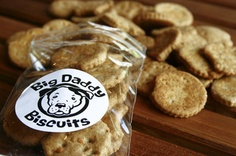 Boomer loves the turkey bacon biscuits by Big Daddy Biscuits. We walk to Bakeshop to get them about every other week.