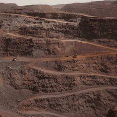 """""""Iron ore mine, zouerat, mauritania, 2014"""""""