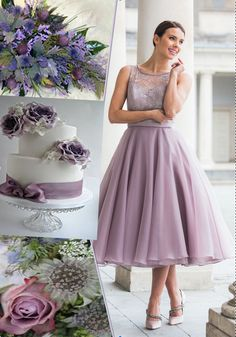 from the Diamond Collection by Special Day. Tea Length Bridesmaid Dresses, Special Day, Tulle, Gowns, Diamond, Skirts, Wedding, Collection, Fashion