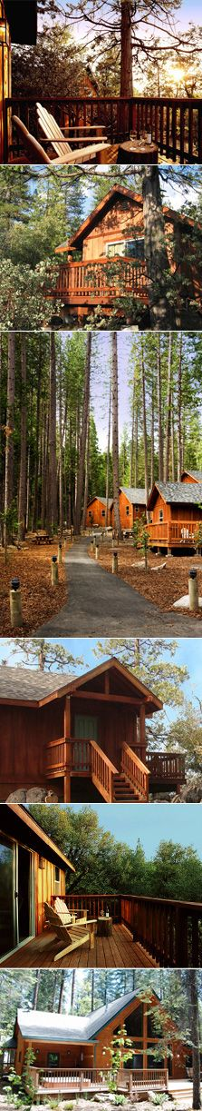 Evergreen Lodge, just outside the Big Oak Flat entrance to Yosemite.  Going there this weekend!