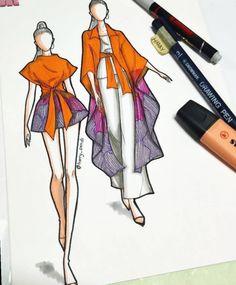 ✔ Fashion Sketches Model Back Dress Design Drawing, Dress Design Sketches, Fashion Design Sketchbook, Fashion Design Drawings, Drawing Sketches, Clothes Design Drawing, Art Sketchbook, Drawing Tips, Fashion Drawing Tutorial