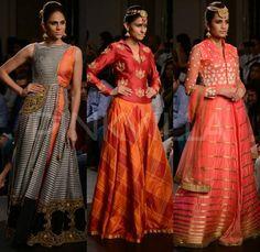 Harshita Chatterjee Deshpande collection at Lakme Fashion Week Winter/Festive 2014   PINKVILLA