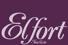 Check out Elfort by Intellecta Design on Creative Market