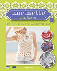 Uncinetto Fantasia: appuntamento in edicola!