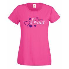 Team Braut mit Herz - SHIRTIXX