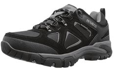 Nevados Men's Spire Low Waterproof Hiking Shoe, Black/Grey, 13 M US: Padded tongue and collar provide additional comfort. Lace-up closure for a secure and adjustable fit. Breathable textile lining and a cushioned EVA footbed. Hiking Socks, Men Hiking, Waterproof Shoes For Men, Mountaineering Boots, Best Hiking Shoes, Fashion Shoes, Mens Fashion, Walking Boots, Trendy Shoes
