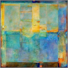CW Slade  is a California based artist whose paintings I have admired for quite a long time. Carol's luminous mixed media paintings are aliv...