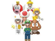 World of Nintendo Mystery Figure Bags - Super Mario, Series 5 by K'nex