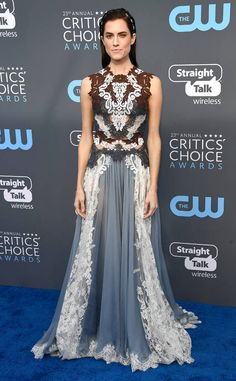 Allison Williams from 2018 Critics' Choice Awards Red Carpet Fashion  Fresh off attending theNational Board of Review Awards, the Get Out star steps out for another star-studded bash.