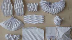 folded paper | paper folding studies