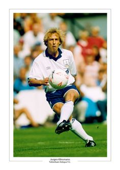 Jurgen Klinsmann of Tottenham Hotspur in 1995.