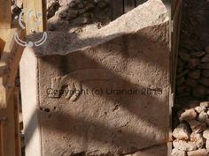 Urandir - Detalhe de Imagem em alto relevo em monolito em Göbekli Tepe - Sítio Arqueológico na Turquia