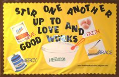 New Bulletin Board Ideas: Stir Up One Another