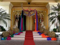 Masquerade Ball Entrance